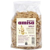Amisa Organic Spelt Crispy Flakes with Honey 250g